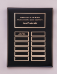 Black Piano-Finish Perpetual Plaque Medium Perpetual Plaques