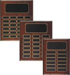 Rosewood Piano Finish Perpetual Plaque Medium Perpetual Plaques