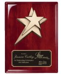 Rosewood Piano  Finish Plaque Patriotic