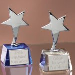 Small Stars with Crystal Bases Patriotic & Eagles
