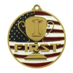PM Medal -1st Place  Patriotic Medallions