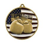 PM Medal -Boxing  Patriotic Medallions