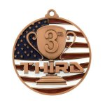PM Medal -3rd Place Patriotic Medallions