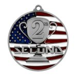 PM Medal -2nd Place Patriotic Medallions