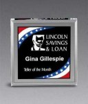 Freedom Corporate Stars and Stripes Paperweight Presidential Acrylic Awards