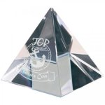 Crystal Pyramid Paperweight Pyramid Awards