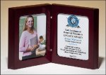High Gloss Rosewood Book Plaque Recognition Plaques