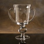 Crystal Cup Tournament Trophy Sport Crystal