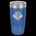 Stainless Steel Ringneck Double Wall Insulated Tumbler -Royal Blue Stainless Steel Drinkware