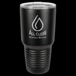 Stainless Steel Ringneck Double Wall Insulated Tumbler -Black Stainless Steel Drinkware