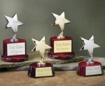 Star with Piano Finish Base Series Star Cast Awards