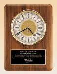 American Walnut Vertical Wall Clock. Wall Clocks