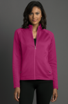 Women's Brushed Back Micro-Fleece Full-Zip Jacket Women's Wearables