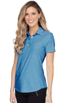 Women's Greg Norman Play Dry Heather Solid Polo Women's Wearables